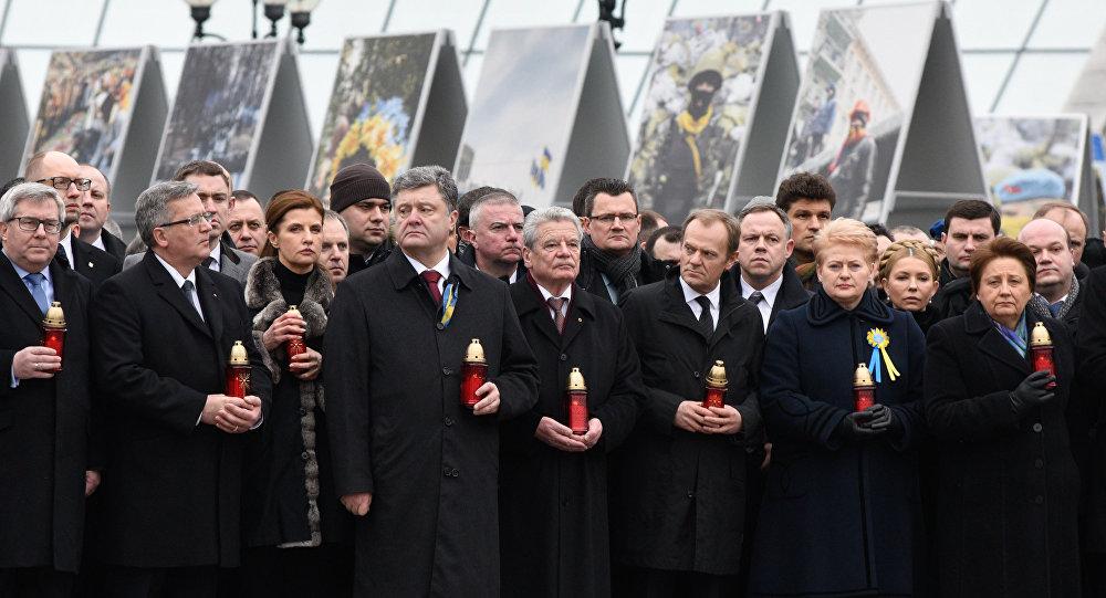 """Marcha da dignidade"""" em Kiev"""