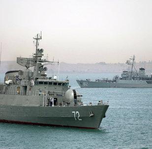 Navios de guerra da Marinha do Irã (foto de arquivo)