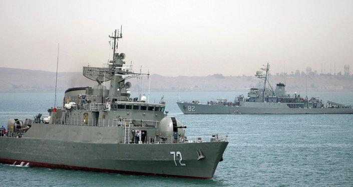 Navios de guerra da Marinha do Irã (arquivo)
