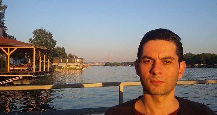 Lamak Kuder, estudante sírio na Sérvia