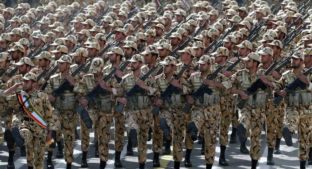 Soldados iranianos