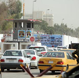 Zona Verde de Bagdá, na capital iraquiana (arquivo)
