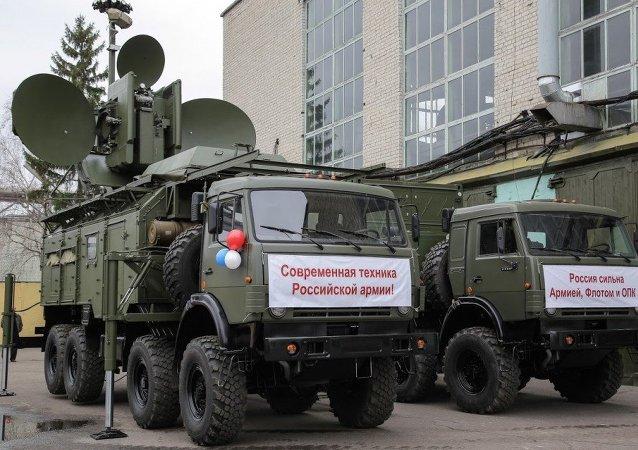 Krasukha 4, sistema de guerra eletrônica das Forças Armadas da Rússia
