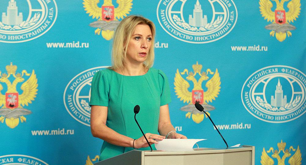 Porta-voz da chancelaria russa, Maria Zakharova