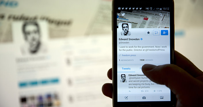 Conta do Twitter de Edward Snowden