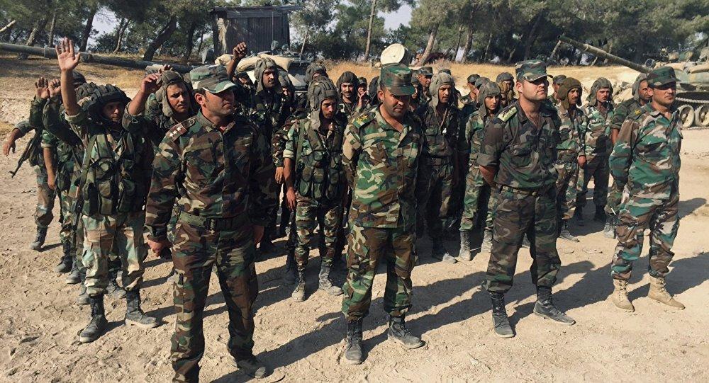 Exército sírio está preparando para a ofensiva de grande escala na província de Hama, Síria
