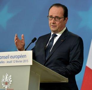 Presidente da França, François Hollande