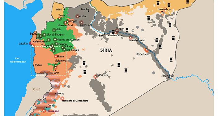 Campanha antiterrorista da aviação russa na Síria