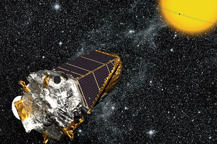 Desenho da sonda Kepler