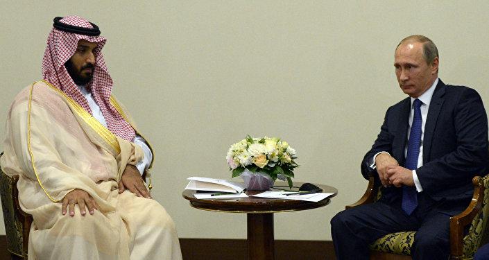 Vladimir Putin e Mohammad bin Salman