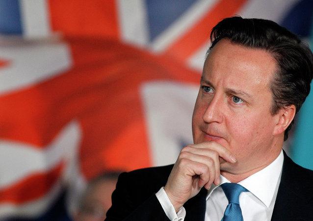 Primeiro-ministro britânico David Cameron