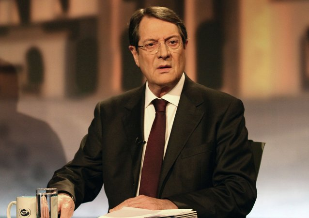 Nikos Anastasiadis, presidente do Chipre