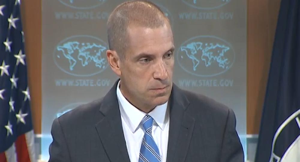 Representante oficial do Departamento de Estado dos EUA, Mark Toner