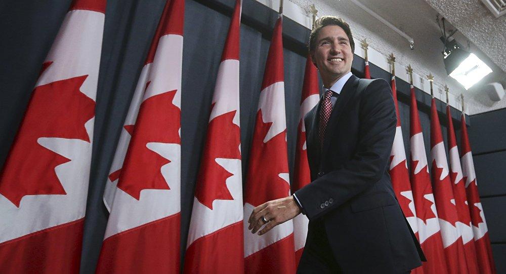 Novo primeiro-ministro do Canadá, Justin Trudeau