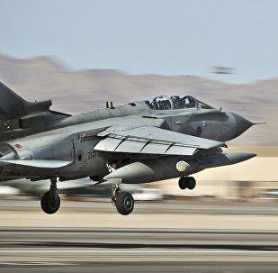 Caça Tornado GR4 da RAF britânica