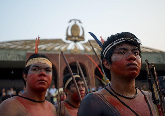 Tribos de diversas etnias participam dos Jogos Mundiais Indígenas, em Palmas