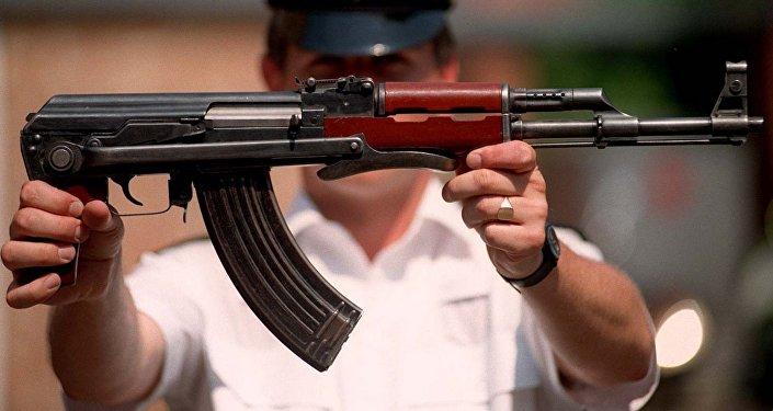 O lendário fuzil de assalto russo Kalashnikov, AK-47