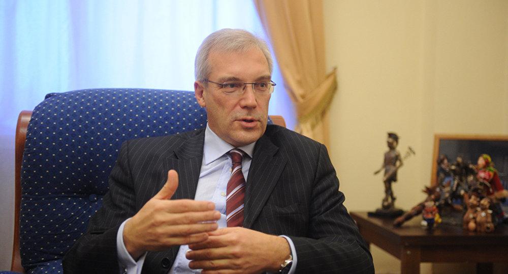 Representante permanente da Rússia na OTAN, Alexander Glushko