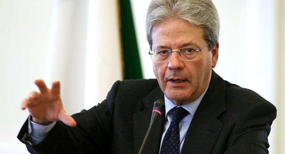 Primeiro-ministro da Itália da Itália, Paolo Gentiloni