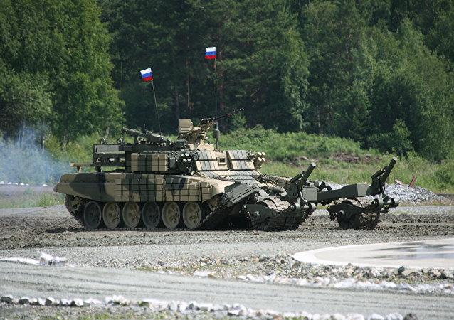 Veículo blindado de desminagem BMR-3M (foto de arquivo)