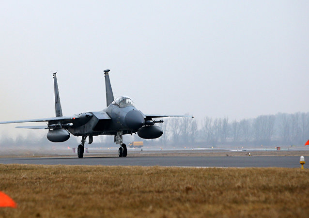Caça norte-americana F-15C