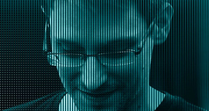"Edward Snowden no documentário ""Citizenfour"""