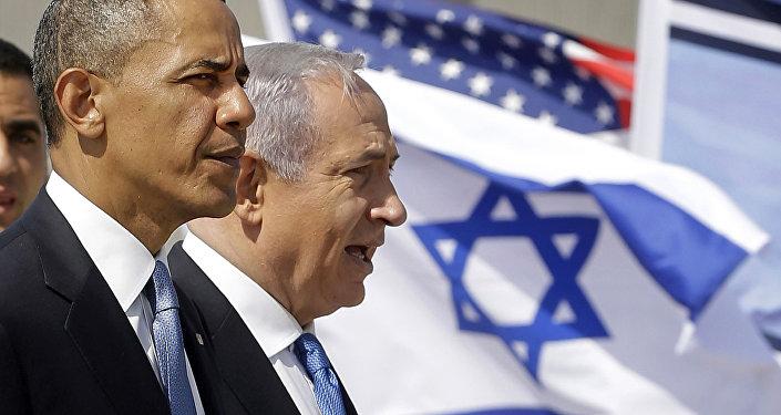 Presidente norte-americano Barack Obama e primeiro-ministro israelense Benjamin Netanyahu