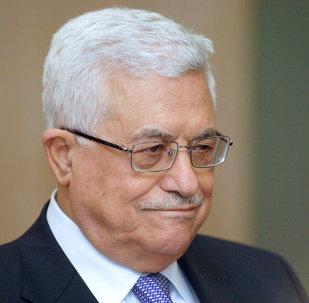 Mahmoud Abbas, presidente da Palestina