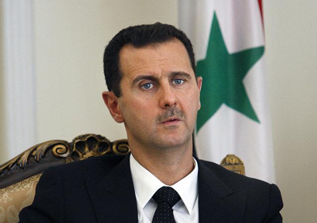 Presidente sírio, Bashar Assad