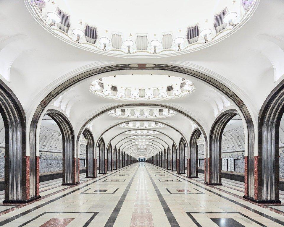 Estação de metrô Mayakovskaya