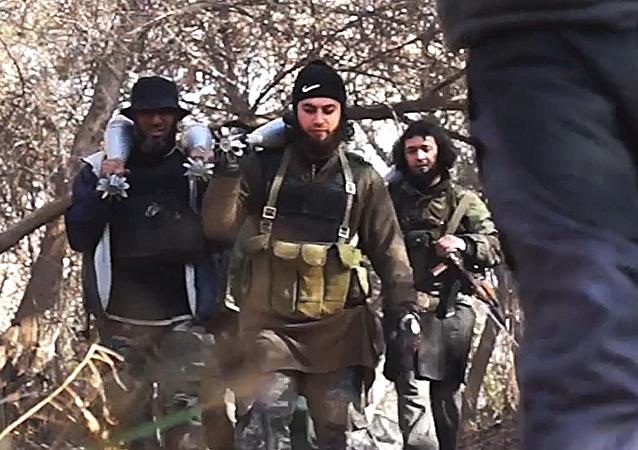 Militantes do grupo terrorista Estado Islâmico