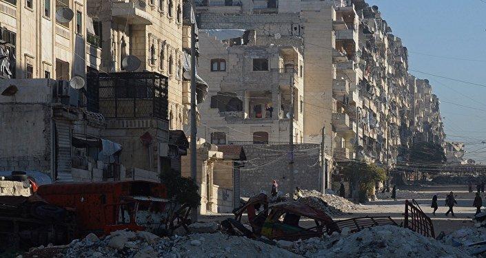 Vai levar muito tempo para restaurar Aleppo, Síria