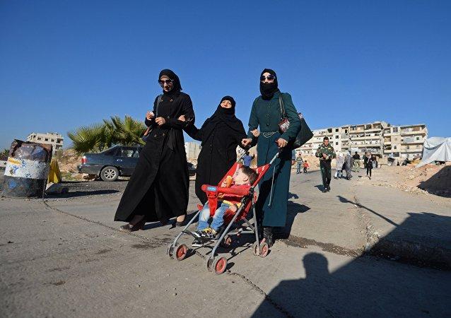 A vida na província de Aleppo pouco a pouco vai melhorando