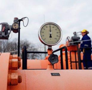 Gasoduto em Beregdaroc, Hungria, um dos pontos de passagem do gás russo à UE