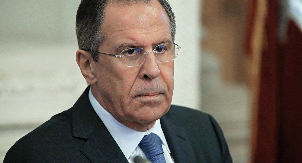 Ministro das Relações Exteriores Sergei Lavrov