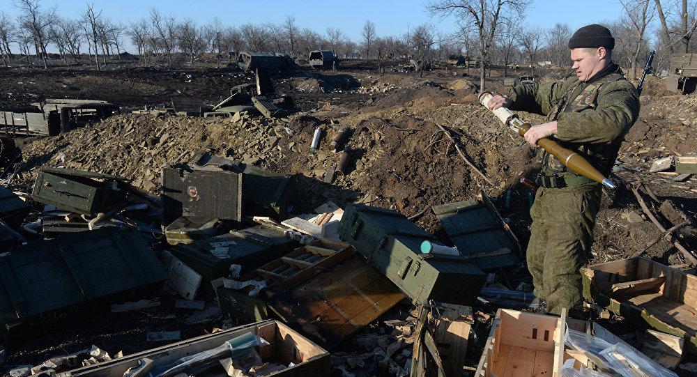 Lugansk retira 70% das armas pesadas da linha de contato do conflito ucraniano