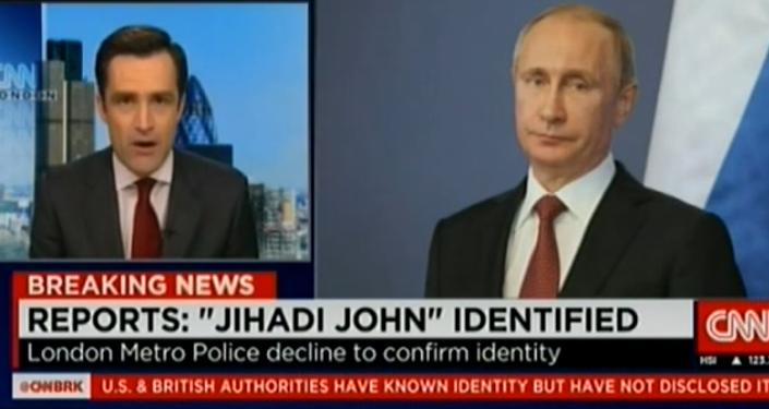 CNN: Putin é Jihadi John