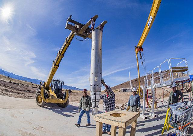 Preparações para o teste da bomba nuclear B61-12