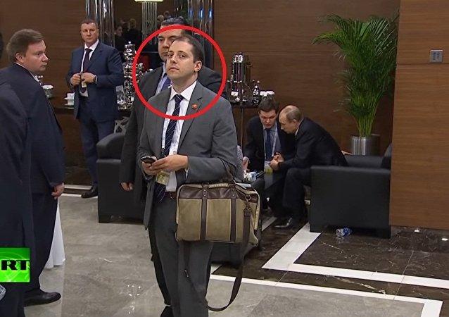 O suspeito Mr. Bean do G-20