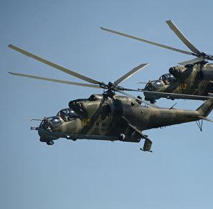 Helicópteros de combate Mi-24