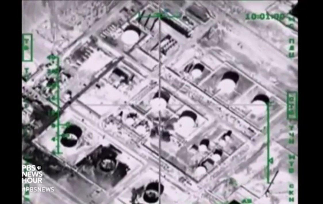 PBS mostra imagens de ataque aéreo russo contra EI como se fosse operação dos EUA