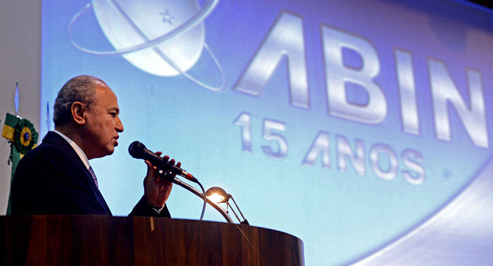 Wilson Trezza, diretor-geral da Abin, durante o Seminário Internacional Enfrentamento ao Terrorismo no Brasil.