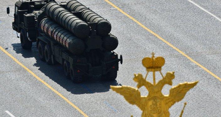 S-400 Triumf exibido em parada militar