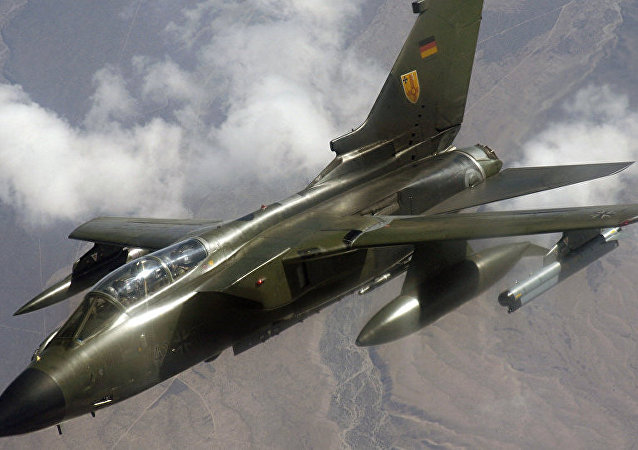 Caça Panavia Tornado da Luftwaffe (Força Aérea alemã)