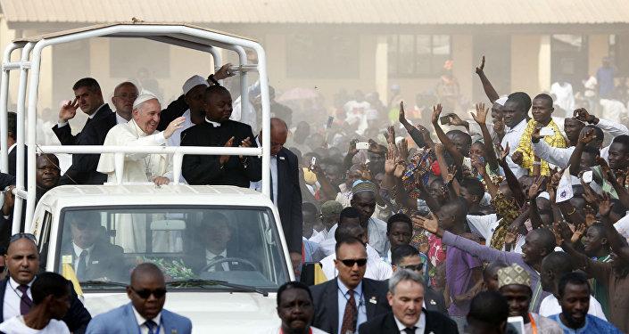 Papa Francisco na República Centro-Africana.