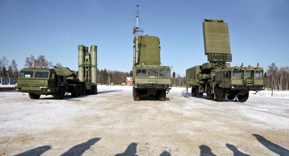 Sistema antiaéreo S-400
