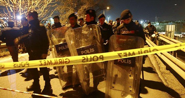 Polícia turca interdita área da explosão em Bayrampaşa, Istambul