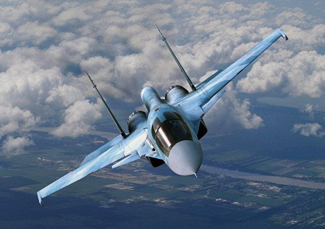 Sukhoi Su-34.