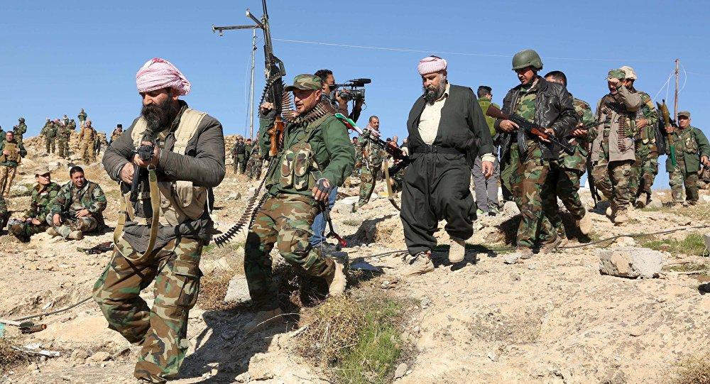 Tropas curdas no Iraque