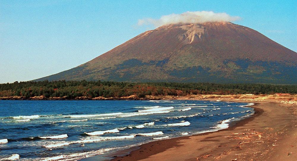 Ilhas Curilas, Rússia (foto de arquivo)